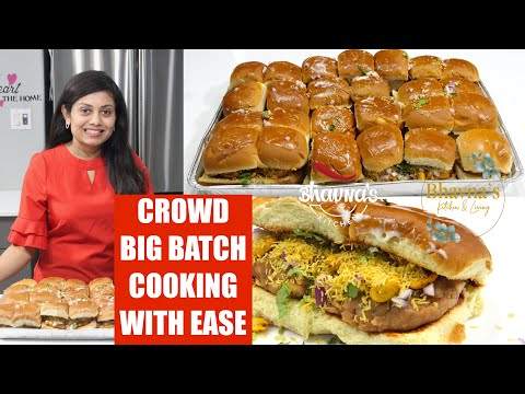 crowd-big-batch-cooking-kutchi-dabeli-masala-chutney-pressure-cooker-video-recipe-|-bhavna's-kitchen