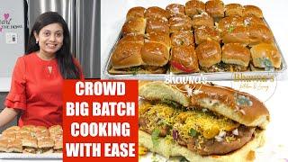 Crowd Big Batch Cooking Kutchi Dabeli Masala Chutney Pressure Cooker Video Recipe | Bhavna's Kitchen