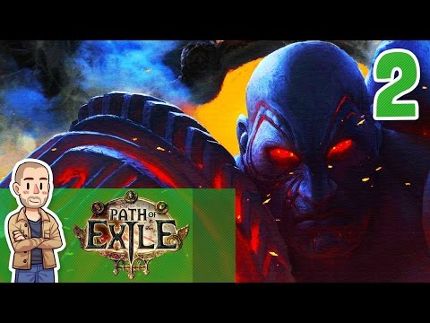Path of Exile Gameplay Part 2 - Tidal Island - Let's Play Playthrough