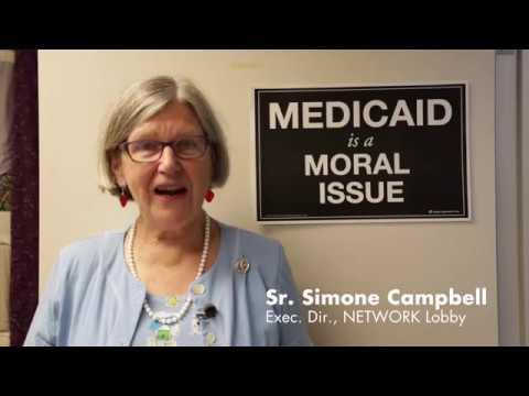 Sr Simone Campbell Calls on Senator Portman to Vote NO on healthcare repeal