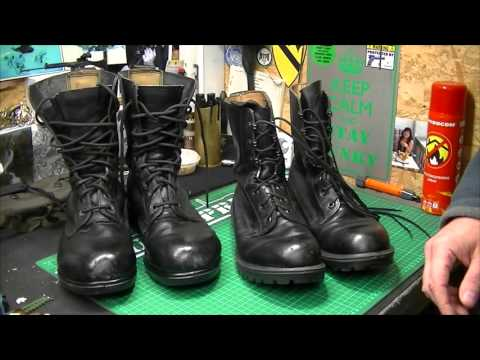 British Army Boots 80's V Later Versions