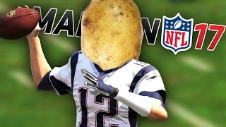 POTATOES PLAY FOOTBALL! | Madden 17
