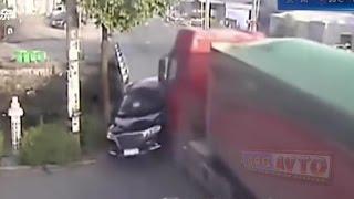 Подборка ДТП и жестких аварий  Смерть на дороге
