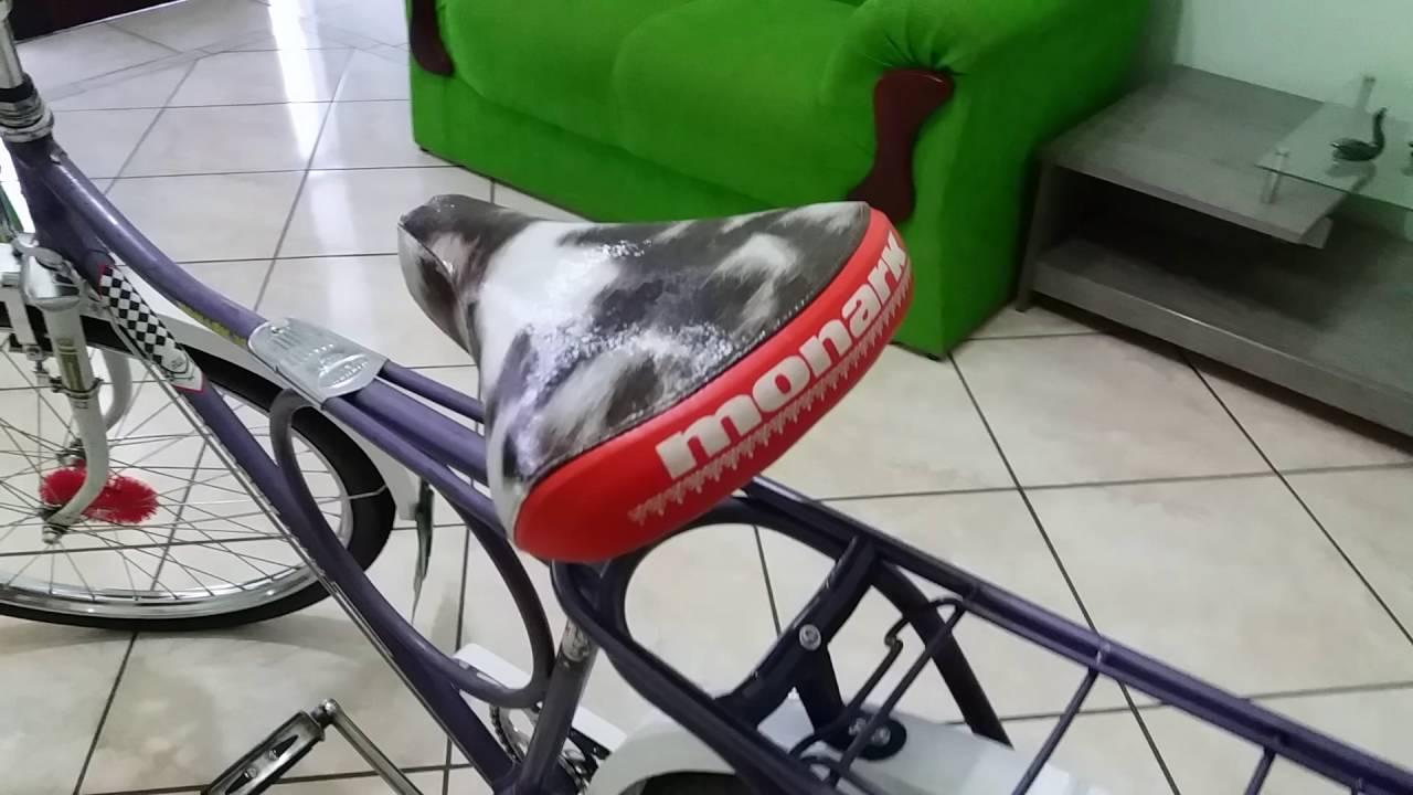 Bicicleta Monark Barra Circular 76 Original Youtube
