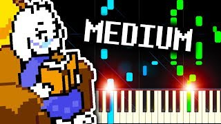 YOU CAN ALWAYS COME HOME from DELTARUNE - Piano Tutorial