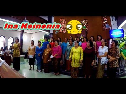 Perpaduan Yang Pas 😊 - Dung Sonang Rohangku (Lagu Rohani Batak) | Ina Koinonia HkBP Pematangsiantar