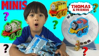 Thomas and Friends MINIS BLIND BAGS CODES OPEN SURPRISES Toy Trains Collectible Guess the Engine thumbnail