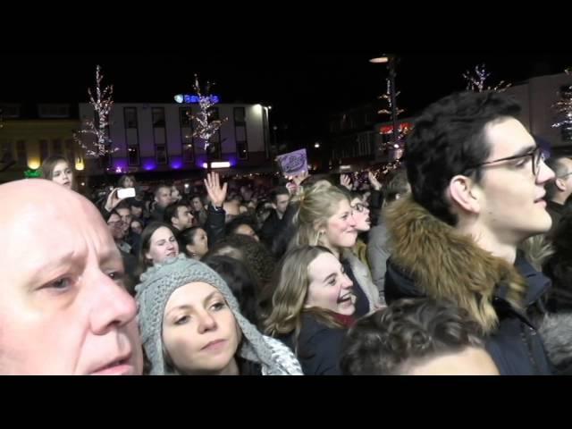 Impressie 3FM Serious Request Heerlen woensdag 23 december