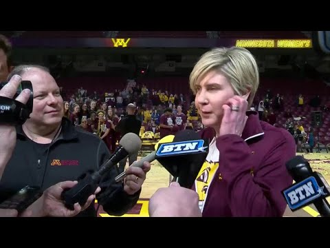 Marlene Stollings on Gophers\' NCAA Tournament Selection