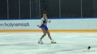 Софья Самодурова на показательных Кубка Мишина 2018