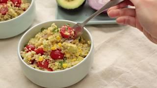 Quinoa Corn and Avocado Salad Recipe