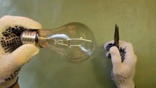 How to disassemble a light bulb | DIY thumbnail