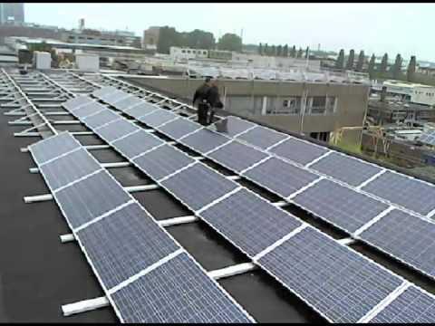 XPOSITRON SOLAR PROJECT - Placing solar panels