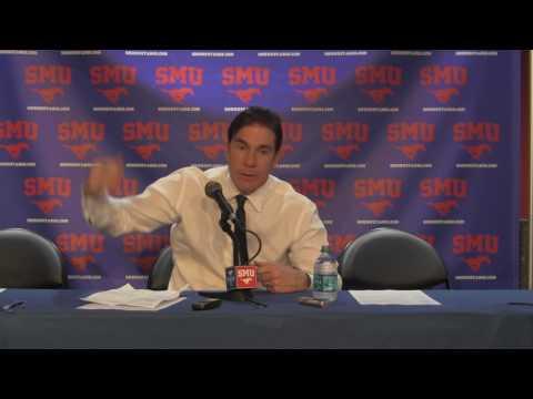 No. 25 SMU vs. No. 11 Cincinnati: Head Coach Tim Jankovich Postgame