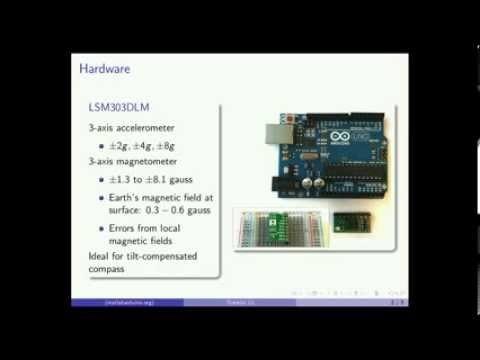 MATLAB Arduino Tutorial 12 - LSM303DLM 3-axis magnetometer Calibration and Data Acquisition