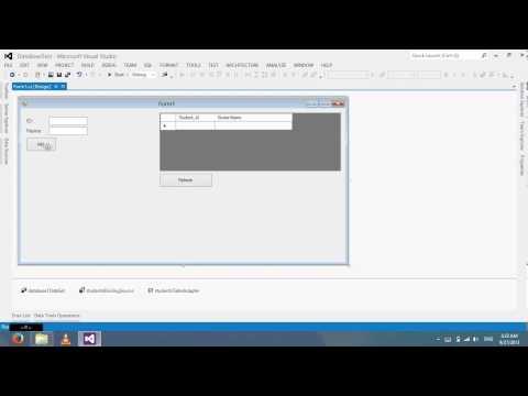 Create Database on Visual Studio 2012
