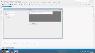 Create Database on Visual Studio 2012