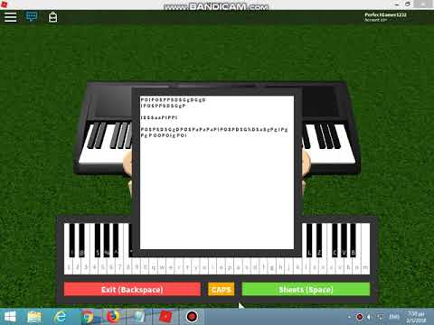 FNAF 6 SONG (Like It Or Not) Roblox Piano - Dawko & CG5