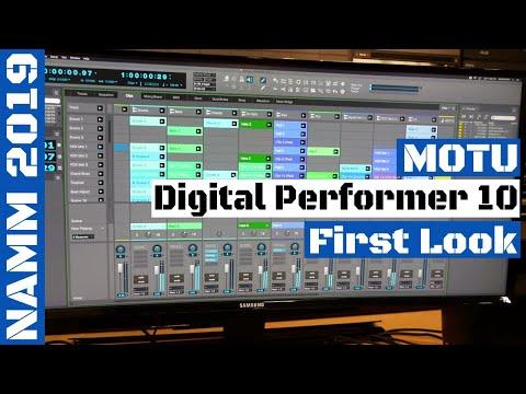NAMM 2019: MOTU Digital Performer 10 (DP 10) DAW | SYNTH ANATOMY