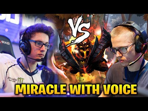 MIRACLE STREAMING WITH VOICE SHADOW FIEND vs TOPSON ORACLE MID