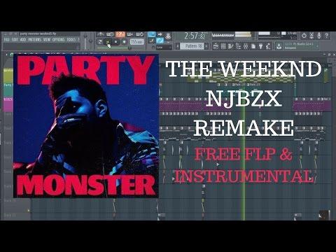 "The Weeknd ""Party Monster"" (NJBZX Remake) (FL Studio Remake) (Free FLP+Instrumental)"