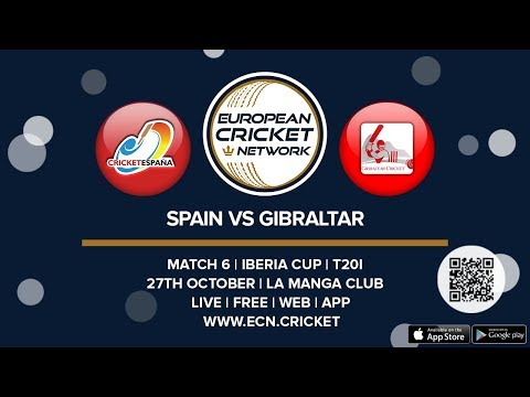 Iberia Cup, Match 6  - Spain Vs Gibraltar - T20I Cricket
