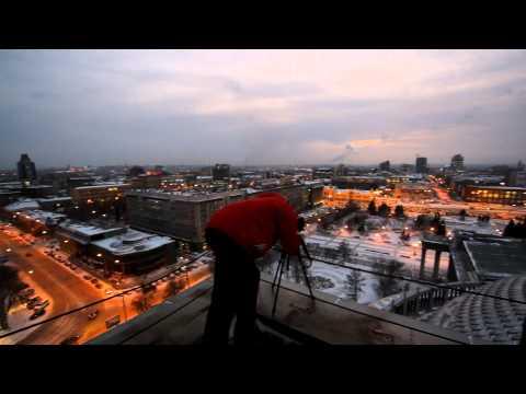 Новосибирский театр оперы и балета: вид сверху