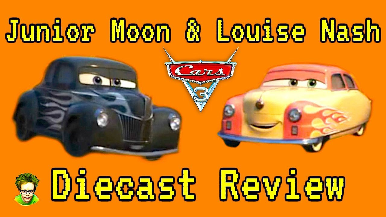 Click To Watch Louise Nash And Junior Moon Diecast Cars 3 Toy