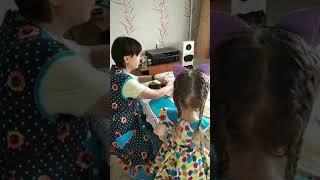 1 03 2020 Настя учится готовить