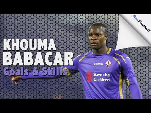 Khouma Babacar ● Goals & Skills ● Fiorentina ● 2016-2017 HD
