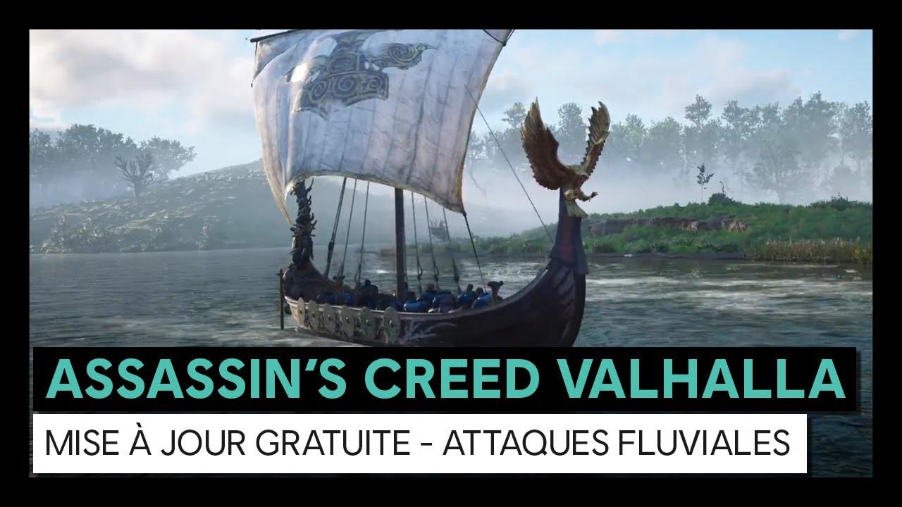 Assassin's Creed Valhalla - Mise à jour gratuite Attaques FluvialesVOSTFR