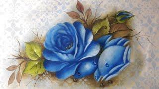 Como pintar rosas – Parte 1 com Luciana Dalponte