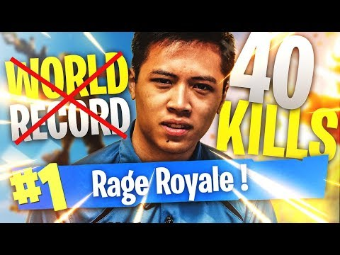 *RAGE* 40 KILLS : ON RATE LE RECORD DU MONDE SUR FORTNITE !!! KINSTAAR TOP 1