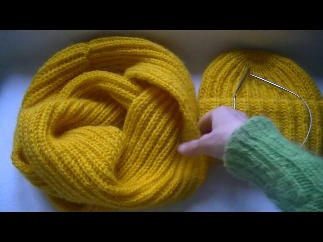 вязание снуда из мохера английской резинкойnewly The Poppy And