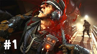 Прохождение Wolfenstein II: The New Colossus #1 - НАЧАЛО РЕЗНИ!!