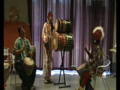 MANDENG PERCUSSION from Gambia - The Drummers of the Dijle