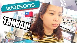 Vlog: WATSONS in Taiwan ❤️ 4 FLOORS!😱 SHOOKT (sobrang daming make-up & skincare 😍)