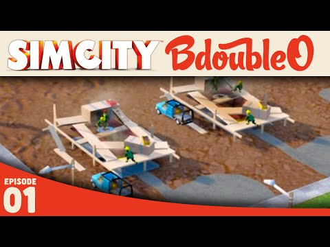 SIMCITY :: DESERT CITY! part 1 [Simcity Gameplay w/ BdoubleO100]