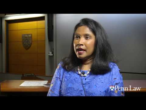 Rangita de Silva de Alwis on the importance of Penn Law's Global Institute for Human Rights