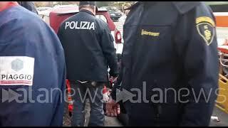 Crotone, dottoressa aggredita con cacciavite: le immagini dell'arresto
