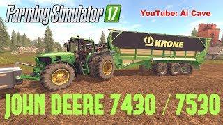 """[""""Farming Simulator 17"""", """"Farming Simulator 17 Mods"""", """"JOHN DEERE"""", """"JOHN DEERE 7430 / 7530"""", """"KRONE"""", """"KRONE TX 560"""", """"Ai Cave"""", """"FARMING SIMULATOR 2017"""", """"FARMING SIMULATOR 2017 Mods"""", """"FARMING SIMULATOR 17 Tractors"""", """"Farming Simulator 17 Trailers"""", """"F"""