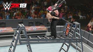 WWE 2K19 Top 10 Extreme Tombstones!!