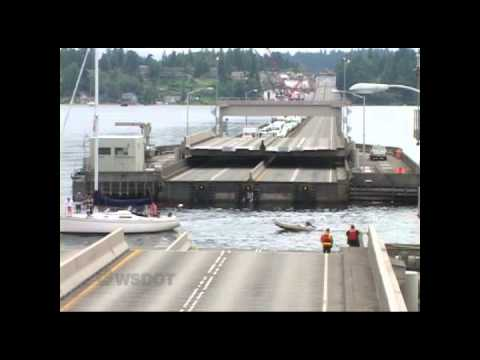 SR 520 Bridge openings