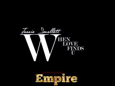 Jussie Smollett - When Love Finds U (Music From Empire)