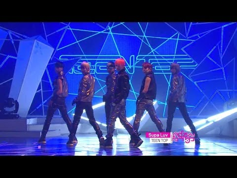 【TVPP】TEEN TOP - Supa Luv, 틴탑 - 수파 러브 @ Comeback Stage, Music Core Live