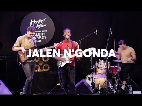 Montreux Jazz Talent Awards - Fairmont European Tour Award 2018: Jalen N'Gonda