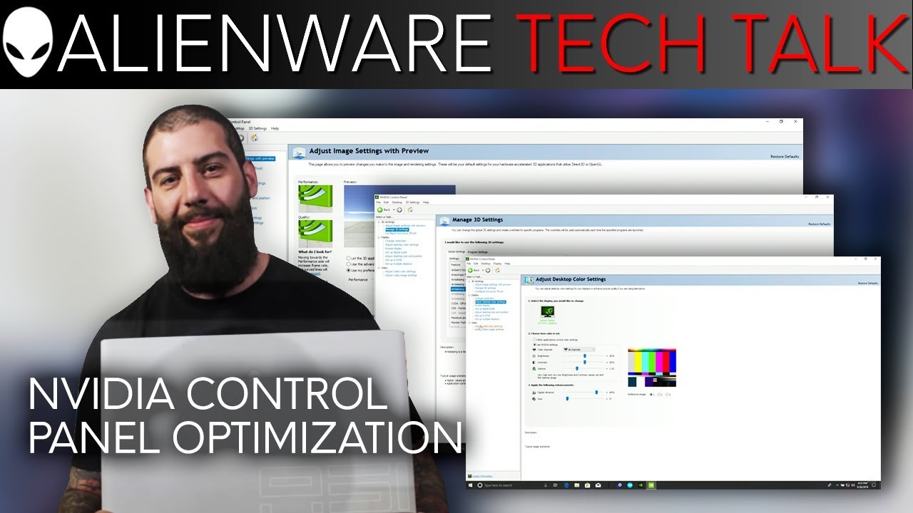 How To Optimize Your Nvidia Control Panel for Gaming and Performance |  Alienware Tech Talk