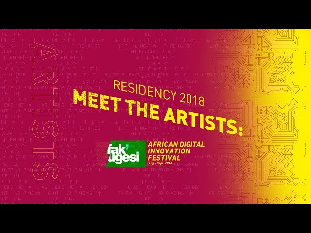 Fak'ugesi Residency 2018: Meet the Artists
