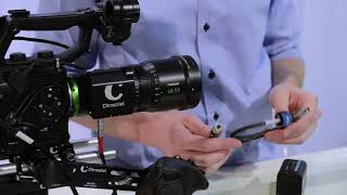 How to Power: servo unit Fujinon MK zoom lens Chrosziel CDM-MK-Z