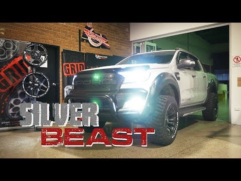 SILVER BEAST // Ford Ranger - Fuel Vapor // Melbourne Customer